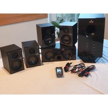 Auna Areal 525 WD System audio 5.1, głośniki