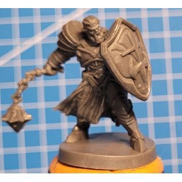 Miniatury Blacklist - Półork mężczyzna Paladyn