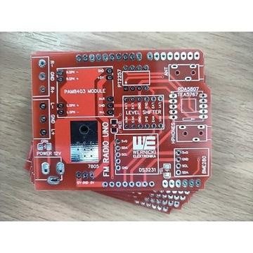 Arduino UNO Radio FM shield TEA5756 RDA5807