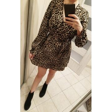 Tygrysowa sukienka