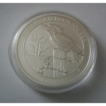 Australia Kookaburra srebro 1 oz uncja Ag 2016