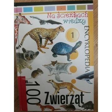 Encyklopedia 100 zwierząt.