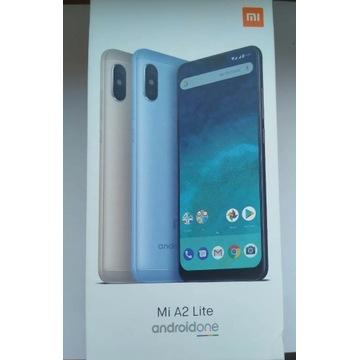 Xiaomi Mi a2 lite GOLD + obudowa + szkło hartowane