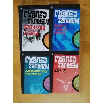Seria kryminałów (4 powieści) Marousza Czubaja