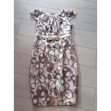 Sukienka wizytowa  stan idealny  rozmiar 40