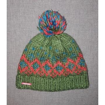 ciepła czapka SALOMON rozmiar M ______ 28 % wełny