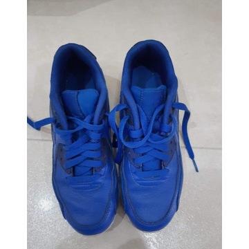 Buty Nike Air Max 90 - r. 37.5 / 38 niebieskie