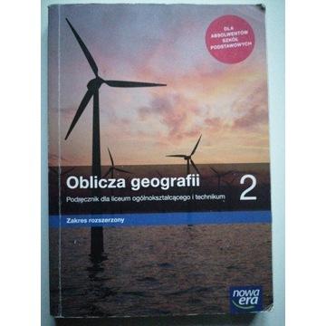 Oblicza geografii 2, podręcznik, rozszerzenie