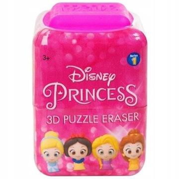 Disney Princess 3D Puzzle Gumka Lalka