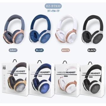 Słuchawki nauszne bezprzewodowe Mega jakość