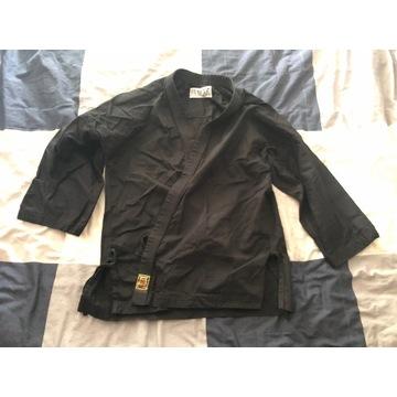 Karategi BUSHI czarne 180 cm karate kimono