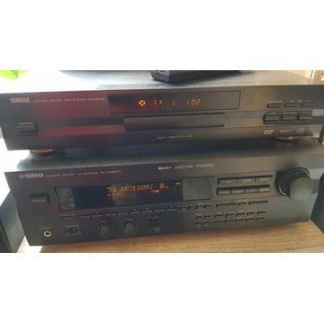 Amplituner YAMAHA RX-V395RDS DVD-S700 i kolumny