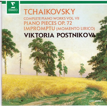 Tchaikovsky / Piano works vol.7 / Postnikova