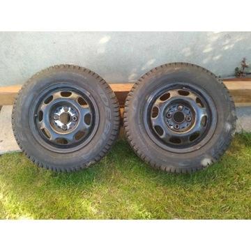 Opony Dębica Frigo 155/80/13 + felgi VW