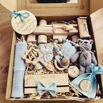Personalizowany zestaw dla dziecka Chrzest narodzi