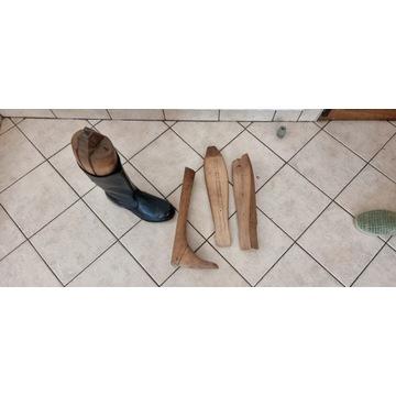 Prawidła drewniane do butów oficerskich