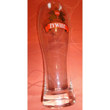 Pokal szklanka kufel ŻYWIEC, poj. 0,5 l