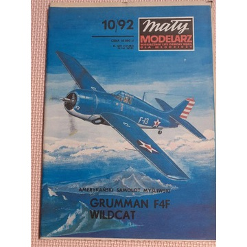 """Mały Modelarz nr 10/92 Grumman F4F """"Wildcat"""""""