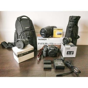 Canon 80D+Tamro70-200 2.8+Sigma17-70 2.8-4+C50 1.8