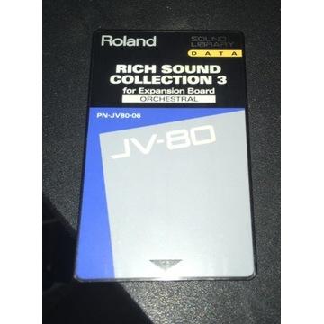 Karta Roland Rich Sound collection PN-JV80-06