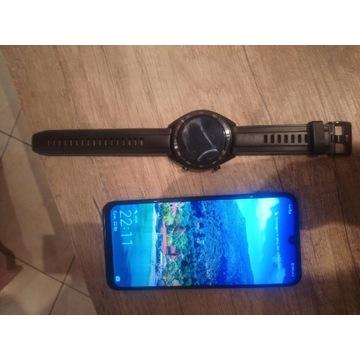 Huawei p smart 2019 + zegarek