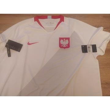 Koszulka Nike XXL Polska 2018 Stadium Home 893893