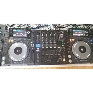 Zestaw Cdj 2000 nexus X2, Djm 900 nexus Zadbany!!!