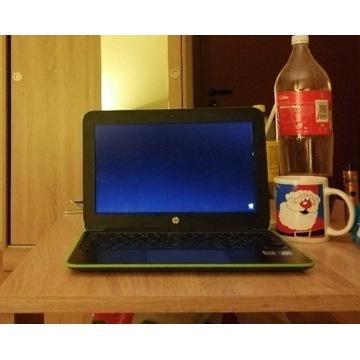 Chromebook HP 11, norweski po leasingowy jak nowy!