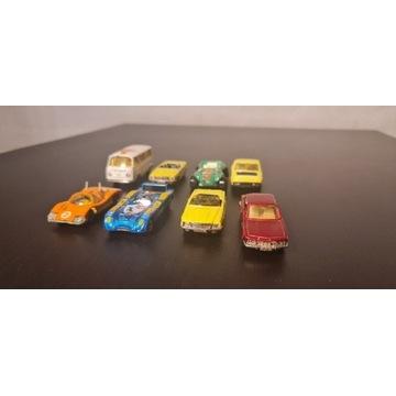 Zestaw zabawki samochódy Majorette 8sztuk