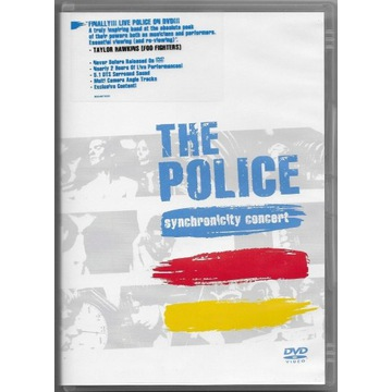 THE POLICE - SYNCHRONICITY CONCERT. DVD