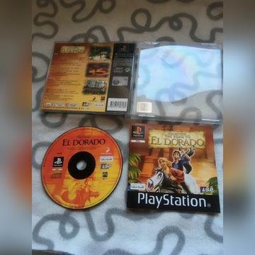 """""""Eldorado"""" (gra na Play Station 1 PSX)"""