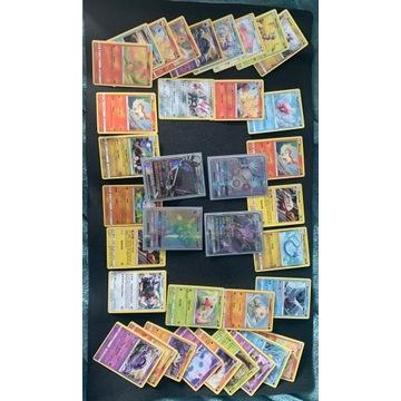 Karty pokemon 36 sztuk 4 GX