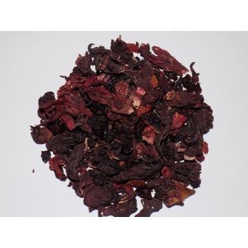 Herbatka leśna z kwiatem hibiskusa 50g