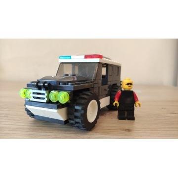 Klocki LIGAO Samochód policyjny