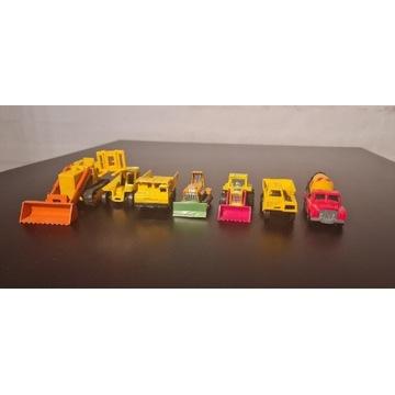 Zestaw zabawki samochody matchbox 7sztuk
