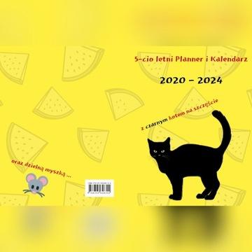 Kalendarz Planer wieloletni 2020-2024