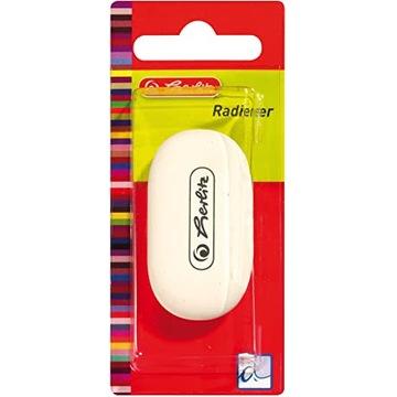 Herlitz radierer, gumka ołówkowa do wymazywania.