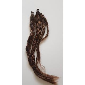 włosy dziewicze dł.48cm, 113gr
