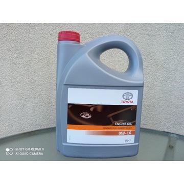 Olej silnikowy Toyota 0W16