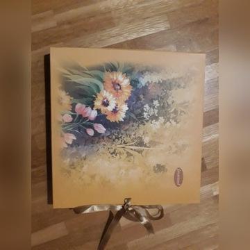 Pamiętnik/notes Journal w pudełku w kwiaty