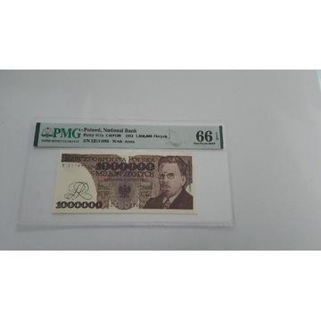1.000.000 złotych 1991 PMG 66 EPQ