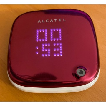 ALCATEL onetouch 810 (puderniczka) różowy