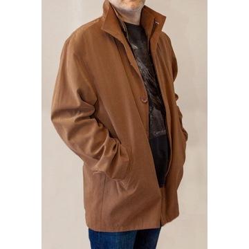 Płaszcz Hugo Boss XXXL - jasny brąz