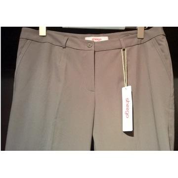 Eleganckie spodnie damskie 158 165 cm 44 46 Sheego
