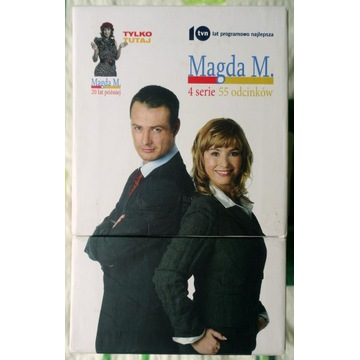 Magda M - Sezony 1-4, 17 DVD, UNIKAT, STAN BDB!