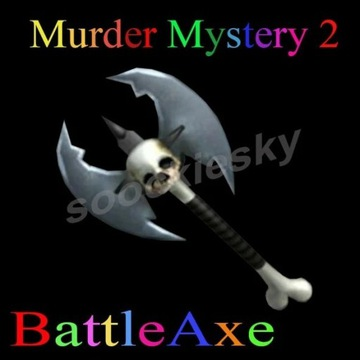ROBLOX Murder Mystery 2 BattleAxe