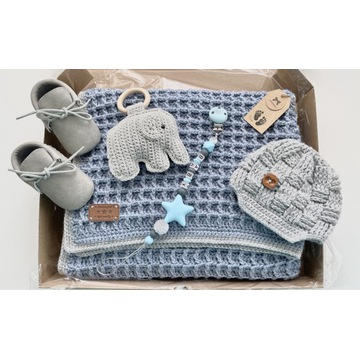 Baby Box baby Shower zestaw dla dziecka handmade