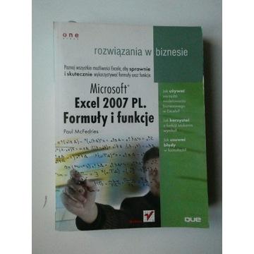 Excel 2007 PL. Formuły i funkcje