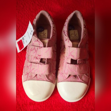 Trampki Calvin Klein roz. 33 na rzepy