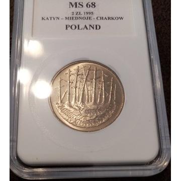2zl Katyń z 1995r ms68